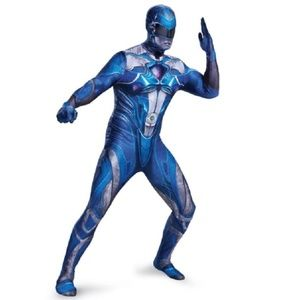 Mens Power Rangers Halloween Costume XXL 50-52 NIP